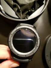 Samsung Galaxy Gear S3 frontier 46mm Stainless Steel Case Dark Gray Sport...