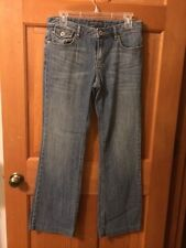 Women's Banana Republic Distressed Boot Cut Jeans - Size 6 Regular - EUC (#20)