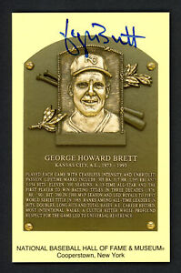 George Brett Autographed Signed HOF Postcard Kansas City Royals JSA W384139