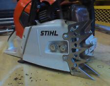 Stihl MS661 dog dawg STEEL spike front cover side skeletonize custom laser