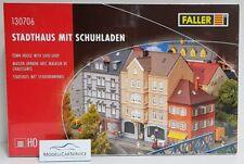 FALLER 1/87 (H0): 130706 Maison de Ville Avec Schuhladen - Kit de Montage