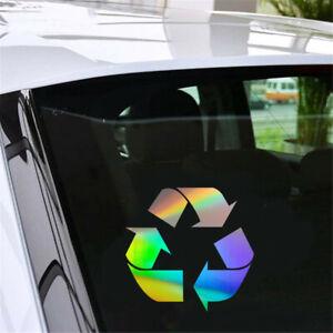 1X Recycle Logo Wall Sticker Car Window Door Truck Bumper Vinyl Decal Removable