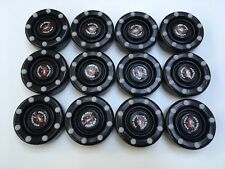 *SALE* 12 NEW Black IDS Pro Shot Roller Inline Hockey Pucks Fast Shipping!