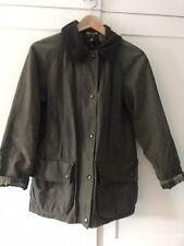 Green Barbour Wax Jacket