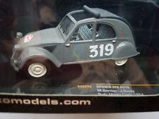 IXO #RAC214 Citroen 2CV 1954 Rally Monte Carlo #319 Bernier / Duvey 1/43 Model