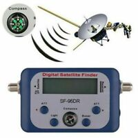 Digital TV satellite Finder Signal Sat Meter Dish Signal Strength Meter Display