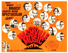 35mm Feature Film: FROM NASHVILLE WITH MUSIC (1969) Robbins, Owens, Wynette, etc