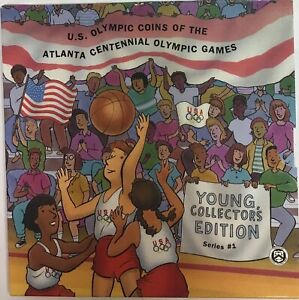 1995-S US Olympic Coins of the Atlanta Centennial Games Young Collector's Ed w11