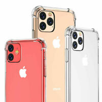 Case for iPhone 11 Pro Max Shockproof Crystal Clear Case Silicone Bumper Cover
