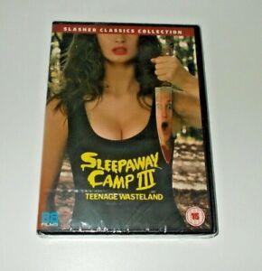 Sleepaway Camp 3 DVD Brand new & sealed Slasher Classics 88 films