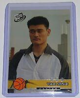 2002 Press Pass Yao Ming #18 Rookie Card Shanghai Sharks Basketball NBA HOF (RC)