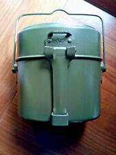 Gavetta alluminio esercito militare italiano 1975  nuova mai usata