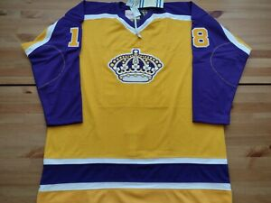 NEW Auth Pro 56 Mitchell & Ness Los Angeles Kings Taylor Jersey Reverse Retro