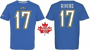 NFL T-Shirt Los Angeles Chargers Philip Rivers 17 Redburn Jersey Football