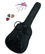 PACK 3 Accessoires Guitare Folk 4/4 (Housse, accordeur..)