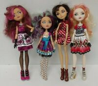 4 Ever After High Doll Apple White Madeline Hood 1st Chapter Clothes Lot # 6