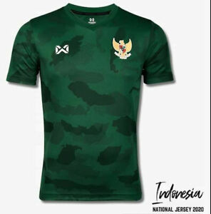 100% Original 2020 Indonesia National Football Soccer Team Jersey Shirt Green