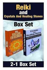 Reiki and Crystals And Healing Stones Box Set (Chakra's, Aura,Reflexology,Energy