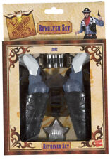 Wild West doppia pistola SET COWBOY RODEO accessorio per costume
