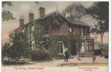 Lancashire; The Rectory, Heaton Chapel PPC By Everitt Innes, 1907 Stockport PMK