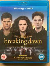The Twilight Saga Breaking Dawn 2 Blu-ray Eclipse Vampire Werewolf Horror