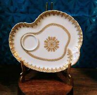 VERY RARE Haviland Limoges Schleiger 779 Snack Plate/J.Allan & Co./Charleston,SC