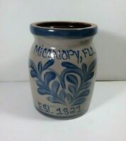 Micanopy Pottery Crock Salt Glazed