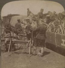 Shipping Supplies to the Great Manchurian Army from Tokyo. Japanese Russian War