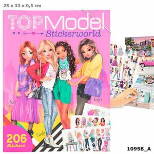 TOPModel Stickerworld Sticker Book by Depesche Sent 1st Class Post