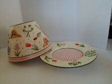 YANKEE CANDLE large Shade & Plate Gardening Flowers