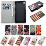 Book Flip Mobile Phone Leather Wallet Stand Cover Case Pouch For Sony Xperia Z3