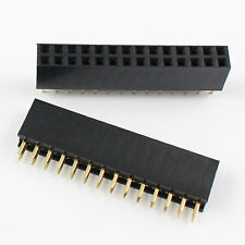 10Pcs 2.54mm 2x14 Pin 28 Pin Female PCB Double Row Straight Header Strip