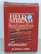 Vintage Field And Stream Best Guns Ever Playing Cards