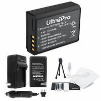 LP-E10 Battery +Charger +BONUS for Canon Rebel T3, Rebel T5, 1100D, Kiss X50, T6