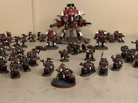 Space Marines PRO PAINTED PP AWESOME ARMY lot Warhammer 40k Imperial Knight