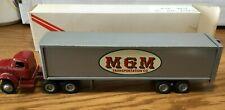 Winross White M & M Transportation Tractor/Trailer 1/64