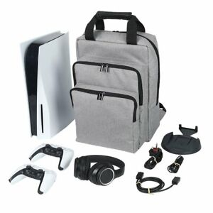 Travel Carrying Case Backpack Shoulder Bag For Sony PS5 Controller Game Console