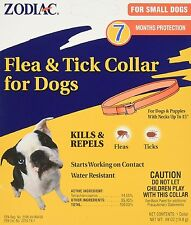 Zodiac Flea & Tick Collar For Small Dogs Fits Neck Up to 15 inch 7 month