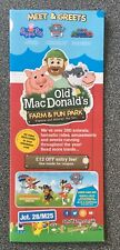 Old Macdonald's Farm & Fun Park Map & £22 Entry Off Codes Peppa Pig & Paw Patrol