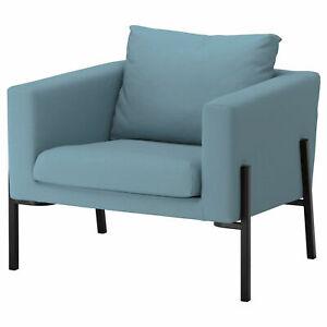 NEW Ikea Koarp Armchair COVER SET ONLY Grasbo Blue 003.557.60