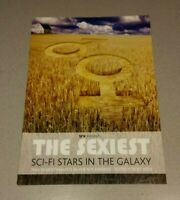SFX MAGAZINE PRESENTS 'THE SEXIEST SCI-FI STARS IN THE GALAXY' MARCH 2004 *NEW*