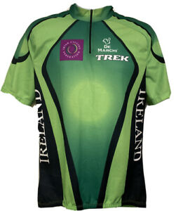 Men's Bike Cycling Jersey - Irish Cycling Federation - 1/4 Zip XXL - 3 Pockets