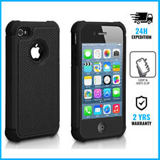iPhone 4/4S Hybrid Armor Cover Cas Coque Etui Silicone TPU Hoesje Case Black
