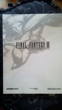 GUIDA STRATEGICA UFFICIALE ITALIANA Final Fantasy 3 III DS NUOVA CON CELLOPHANE