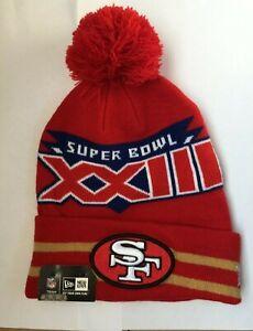 San Francisco 49ers SBXXIII Beanie New Era UPC: 884991200119 Style: 20575514