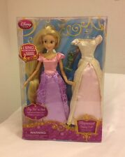 "DISNEY 12"" PRINCESS RAPUNZEL from TANGLED SINGING DOLL - NEW IN BOX"