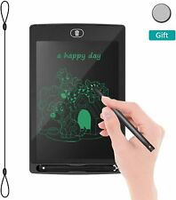 """REOTECH LCD Electronic Writing Tablet Drawing Board 8.5"""" Jot Doodle Pad"""