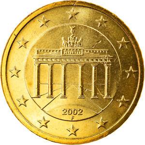 [#818794] République fédérale allemande, 50 Euro Cent, 2002, Stuttgart, FDC, Lai