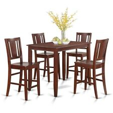 5 Piece Counter height table set-high top table and 4 kitchen counter chairs NEW