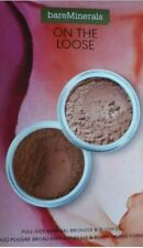 BAREMINERALS ON THE LOOSE BRONZE AND BLUSH 2 PIECE SET NEW  Bare Minerals